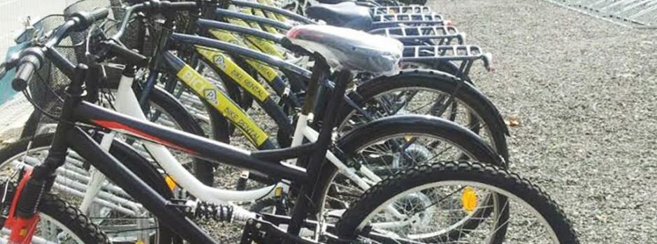 Un aparcament en el que també podreu llogar i comprar bicis!