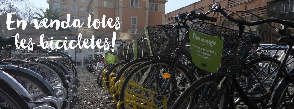 Aprofita el descompte del 50% en totes les bicicletes fins al 31 d'agost!
