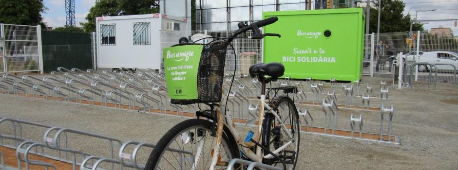 Aparcament de bicicletes vigilat de dilluns a divendres de 7.30 a 21.30 h